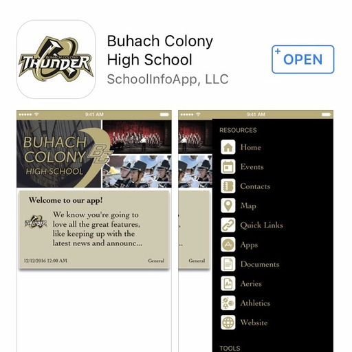 Download the BCHS App
