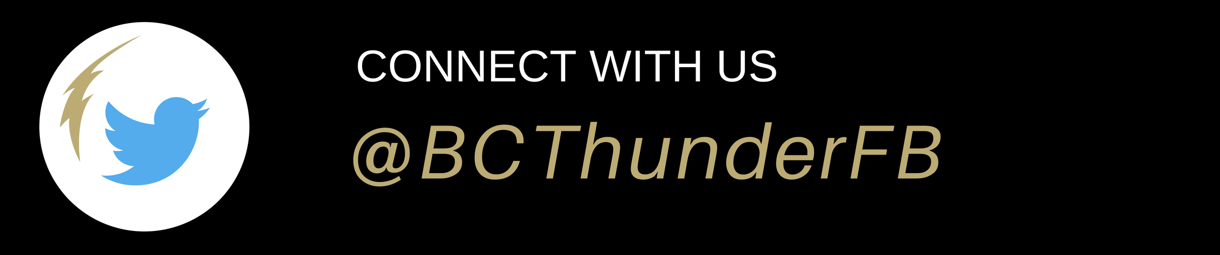 Connect with US @BCThunderFB